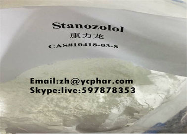 Trung Quốc Stanozolol Cutting Cycle White Steroid Powders Winstrol CAS 10418-03-8 for Muscle Gain nhà cung cấp